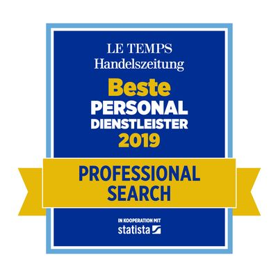 Bester Personaldienstleister2019 Professional Search